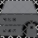 Server Lock Lock Server Secure Server Icon