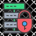 Server Lock Server Database Icon