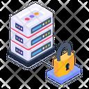 Server Lock Icon