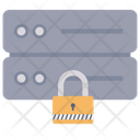 Server Lock Server Security Database Security Icon