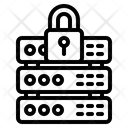 Server Lock Server Security Server Protection Icon