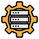 Server Data Base Gear Icon