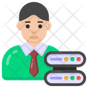 Server Admin Server Manager Database Administrator Icon