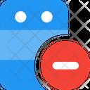 Server Minus Icon