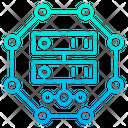 Server Database Rack Icon