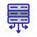 Network Arrows Analytics Icon