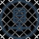 Storage Server Big Data Icon