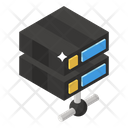Data Networking Shared Dataserver Server Network Icon