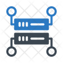 Server Data Management Icon