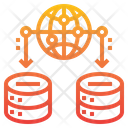 Server Global Network Icon