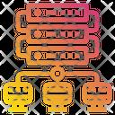 Data Server Network Icon