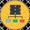 Server Network Server Rack Electronic Dataserver Icon