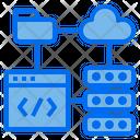 Network Web Hosting Icon