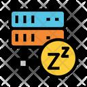 Server On Sleep Icon