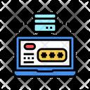 Server Laptop Password Icon