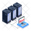 Server Platform Data Hosting Server Hosting Icon