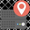 Server Location Data Icon