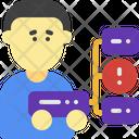 Server Problem Storage Data Icon