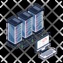 Database Network Database Coding Storage Coding Icon