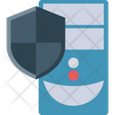 Server Protection Data Server Security Icon