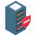 Server Protection Server Security Secure Data Icon