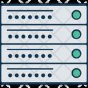 Server Rack Network Server Database Icon