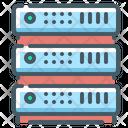 Server Rack Hosting Icon