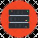 Server Rack Electronic Dataserver Datacenter Icon
