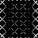 Server Rack Hosting Mainframe Icon