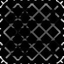 Server Rack Data Icon