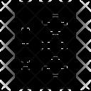 Server Racks Mainframe Dataserver Icon