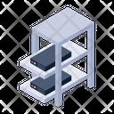 Dataserver Server Racks Server Shelves Icon