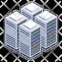 Database Servers Server Racks Icon