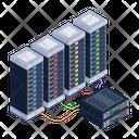 Data Racks Server Towers Server Racks Icon