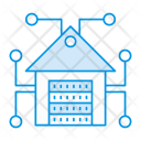House Server Storage Icon