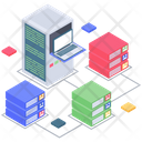Server Room Database Room Database Hosting Icon