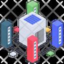 Server Room Database Room Database Hosting Icon