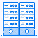 Server Room Datacenter Dataserver Icon
