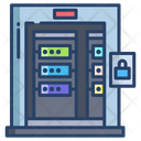 Server Room Database Room Datacenter Icon