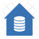 Database House Server Icon