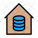 Server Room Database House Database Icon