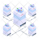 Server Network Server Room Data Centers Icon