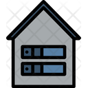 Server Room Data Storage Database Icon
