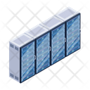 Server Room Storage Room Data Centers Icon