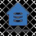 Database House Server Icon