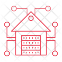House Server Storage Icon