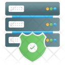 Server Protection Server Secure Server Security Icon
