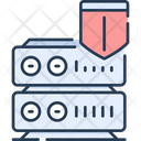 Server Security Secure Server Protected Server Icon
