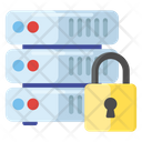 Server Security System Security Database Protection Icon
