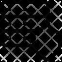 Server Security Shield Icon